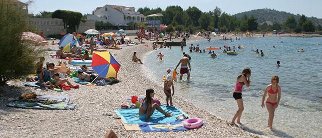 Rogoznica beach